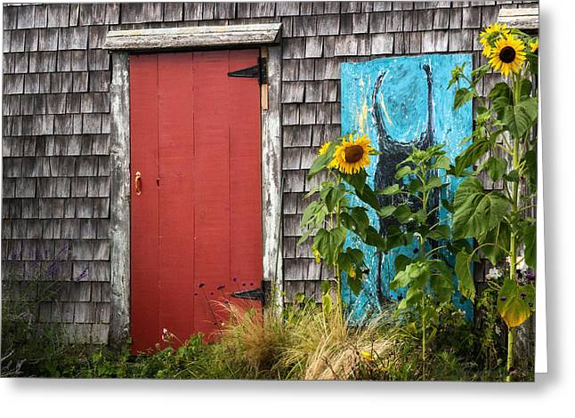 Cape Cod National Seashore Greeting Cards - Rustic Cape Cod Greeting Card by Bill  Wakeley