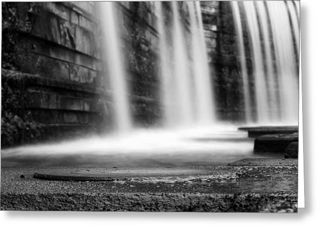 Ground Level Greeting Cards - Saarland Waterfall Greeting Card by Mountain Dreams