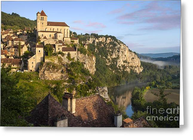Midi Greeting Cards - Saint Cirq Lapopie Greeting Card by Brian Jannsen