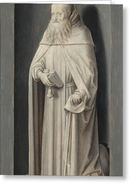 Saint John The Evangelist Greeting Card by Hans Memling