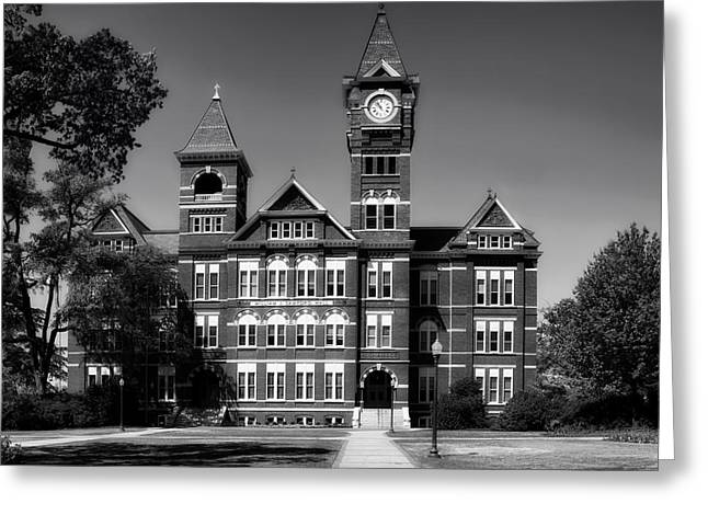 Nature Study Greeting Cards - Samford Hall on the Campus of Auburn University Greeting Card by Mountain Dreams