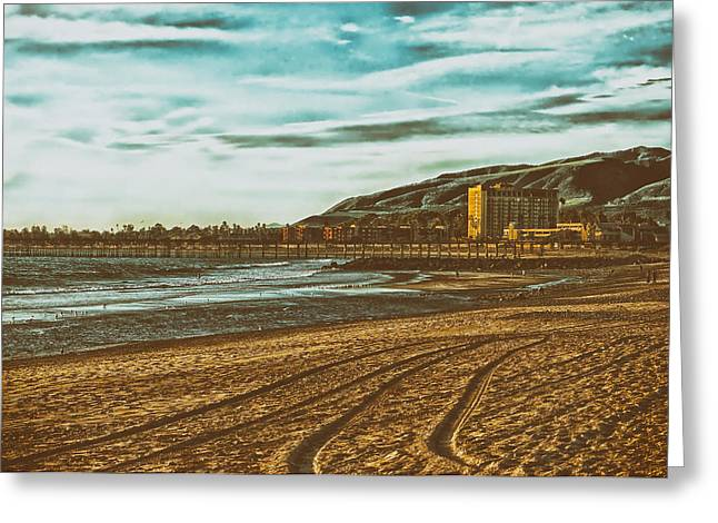 Ventura California Greeting Cards - San Buenaventura State Beach - California Greeting Card by Mountain Dreams