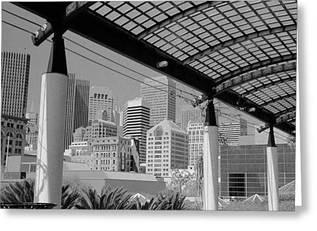 Financial District San Francisco Greeting Cards - San Francisco, California, Usa Greeting Card by Panoramic Images