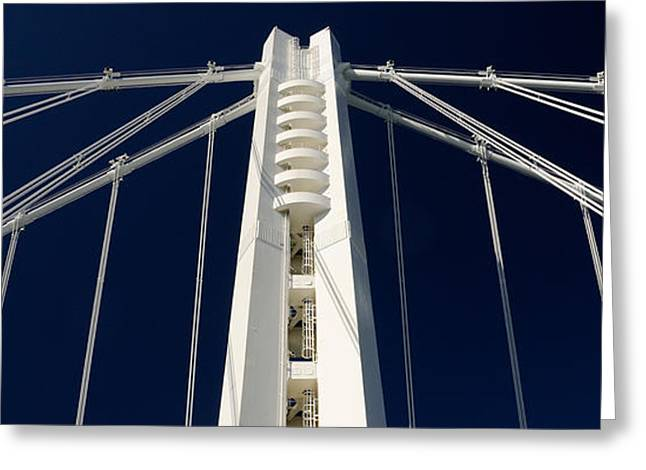 San Francisco-oakland Bay Bridge, San Greeting Card by Panoramic Images