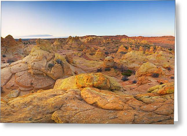 Sandstone Formations Coyote Buttes Greeting Card by