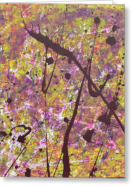 Sanguinamento Floreale Greeting Card by Kristen Brown