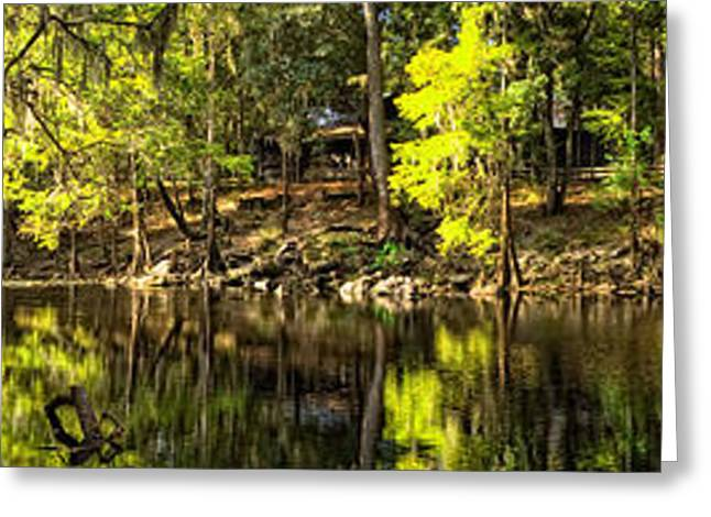 Beautiful Creek Greeting Cards - Santa Fe River Greeting Card by Rich Leighton
