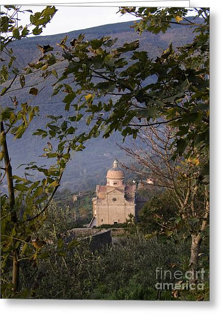 Santa Maria Nuova Greeting Cards - Santa Maria Nuova, Italy Greeting Card by Tim Holt