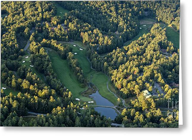 Nc Estate Greeting Cards - Sapphire National Golf Club Greeting Card by Performance  Impressions