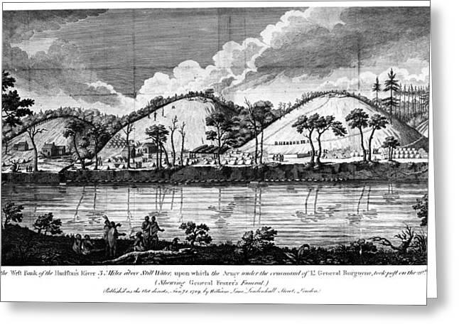 Saratoga: Encampment, 1777 Greeting Card by Granger