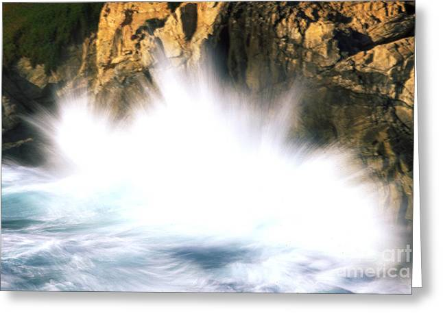 Point Lobos Greeting Cards - Sea Stacks Greeting Card by Art Wolfe
