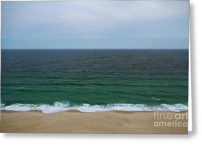 Tropical Oceans Greeting Cards - Seascape Greeting Card by Carlos Caetano