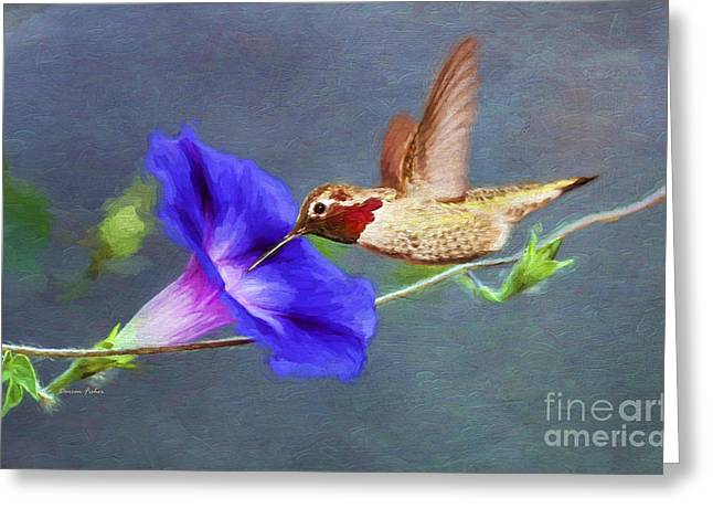 Florescence Greeting Cards - Seasons End Greeting Card by Darren Fisher