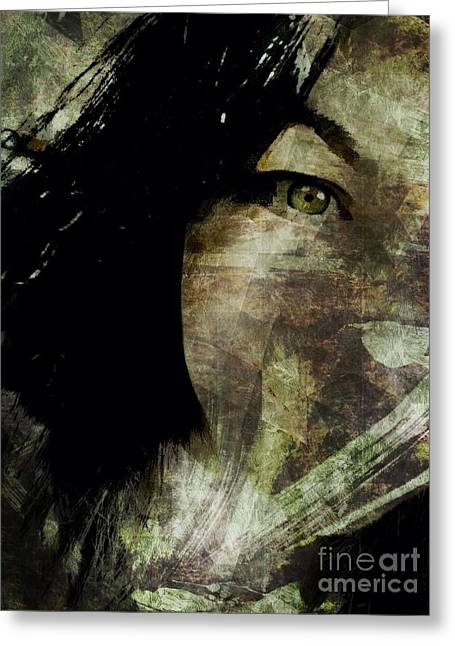Recently Sold -  - Self-portrait Photographs Greeting Cards - Self Portrait  Greeting Card by Candace  Rowlands
