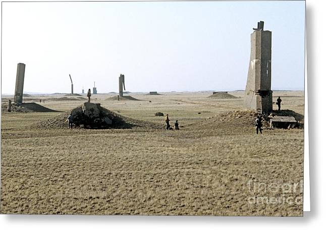 Ground Zero Greeting Cards - Semipalatinsk Nuclear Test Site Greeting Card by RIA Novosti