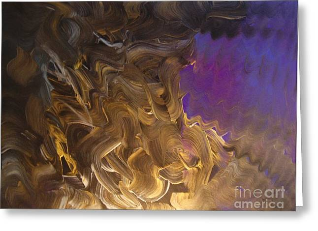Separation Paintings Greeting Cards - Separation Greeting Card by Chris Brightwell