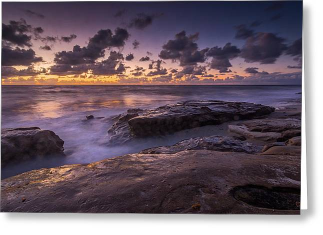 Beach Road Greeting Cards - Serenity Now Greeting Card by Peter Tellone