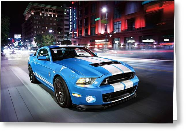 Art Work Greeting Cards - Shelby GT Greeting Card by Art Work