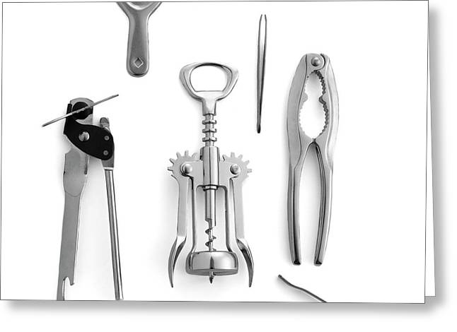 Simple Machines Greeting Card by Science Photo Library