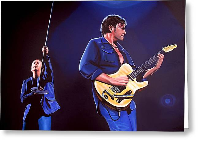 New Stage Greeting Cards - Simple Minds Greeting Card by Paul  Meijering