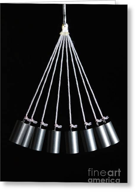Harmonic Motions Greeting Cards - Simple Pendulum Greeting Card by GIPhotoStock