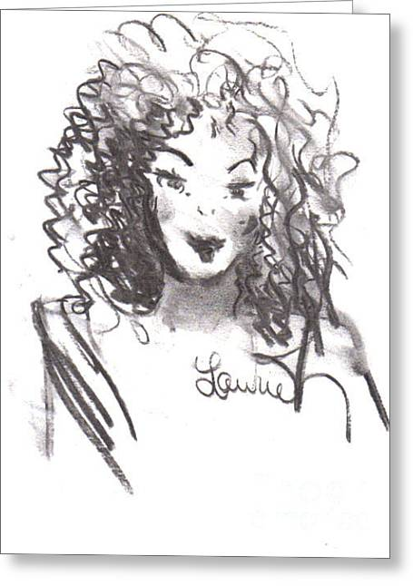 Laurie D Lundquist Greeting Cards - Simply Red Greeting Card by Laurie D Lundquist