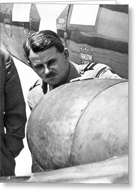 Sir Frank Whittle Greeting Card by Granger