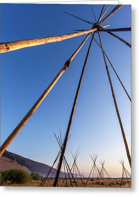 Site Of Chief Joseph Of The Nez Perce Greeting Card by Chuck Haney