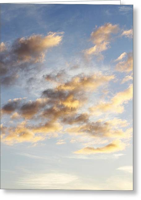 Clean Greeting Cards - Sky Greeting Card by Les Cunliffe