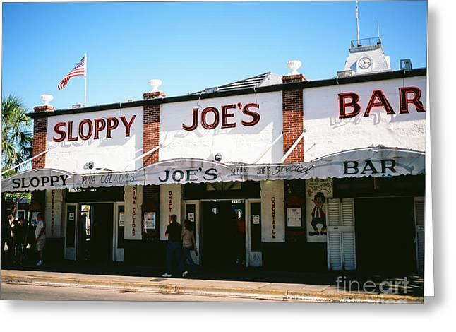 Keyes Greeting Cards - Sloppy Joes Greeting Card by Tracy Knauer