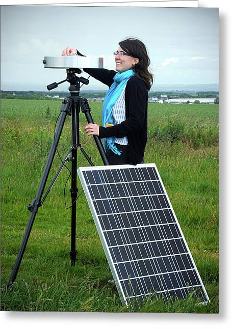 Solar Radiation Monitoring Greeting Card by Public Health England