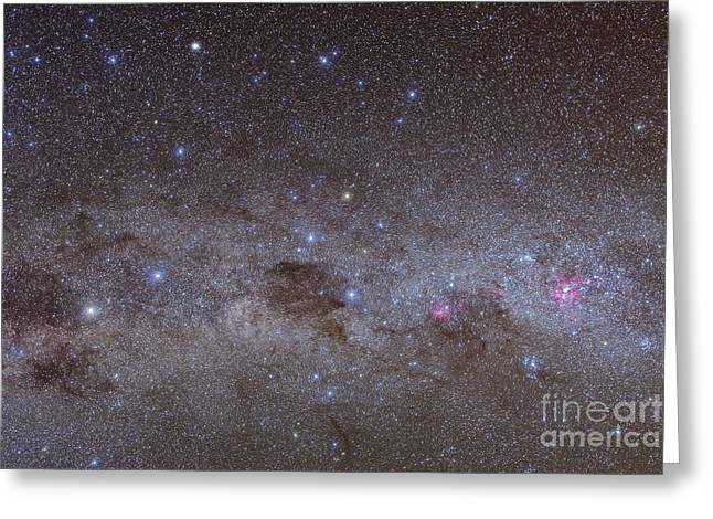 Twinkle Greeting Cards - Southern Milky Way Greeting Card by Alan Dyer