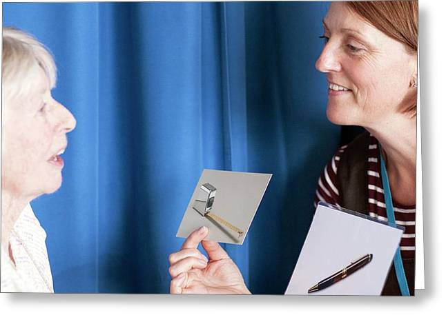 Speech Therapy Clinic Greeting Card by Life In View