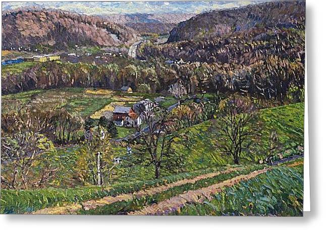 Bedford Hills Greeting Cards - Spring 87 Greeting Card by Kevin Kutz
