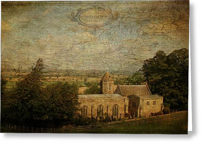 Northamptonshire Greeting Cards - St. Leonards Church. Rockingham. Greeting Card by ShabbyChic fine art Photography