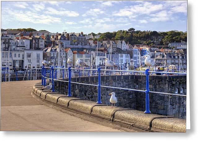 Guernsey Greeting Cards - St Peter Port - Guernsey Greeting Card by Joana Kruse