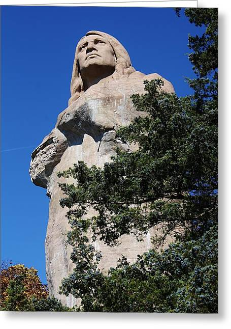 Standing Watch Greeting Card by Bruce Bley