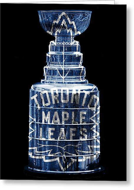 Hockey Greeting Cards - Stanley Cup 2 Greeting Card by Andrew Fare
