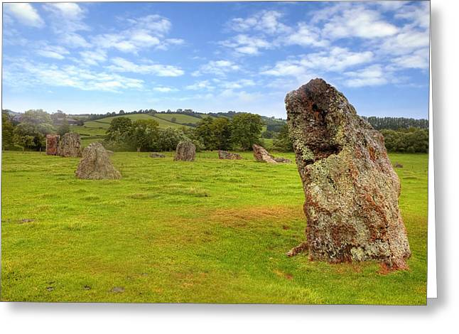Stone Circle Greeting Cards - Stanton Drew Greeting Card by Joana Kruse