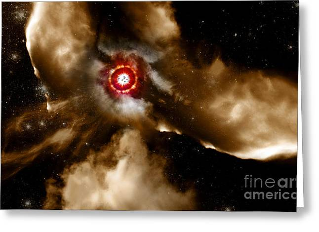Super Stars Photographs Greeting Cards - Star Dust Of Supernova Greeting Card by Ryan Jorgensen