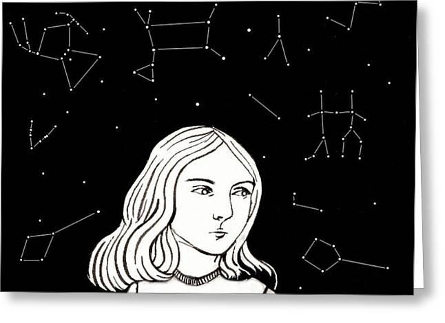Star Stuff Greeting Cards - Star Stuff Greeting Card by Roberta Ferreira