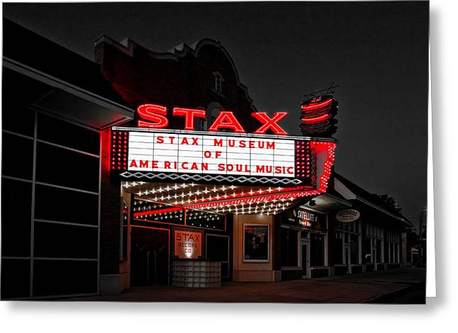 Tennessee Landmark Greeting Cards - Stax Museum of American Soul Music Greeting Card by Mountain Dreams