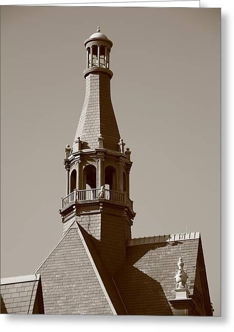 Spire Framed Prints Greeting Cards - Steeple Greeting Card by Frank Romeo