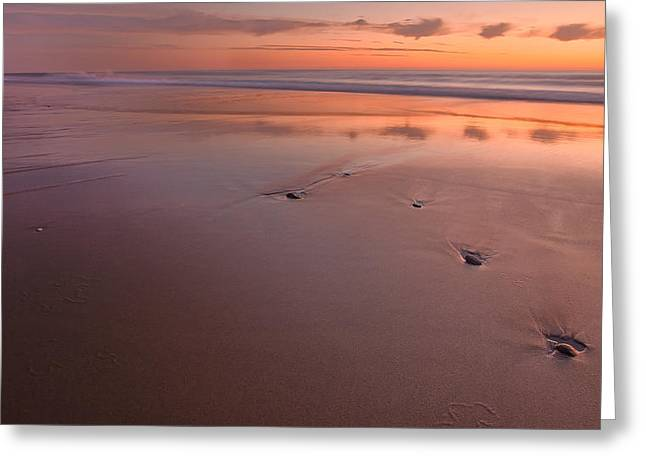Cape Cod National Seashore Greeting Cards - Steppin Stone Greeting Card by Bill  Wakeley