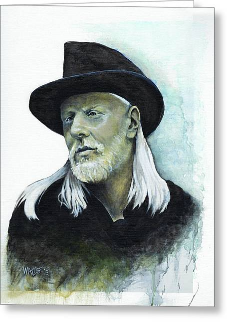 William Walts Greeting Cards - Still Alive and Well Greeting Card by William Walts