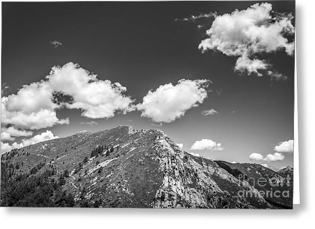 Alps Greeting Cards - Stillness at the Peak of Cimetta Greeting Card by Ning Mosberger-Tang