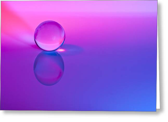 Ball Room Greeting Cards - Stillness of Color Greeting Card by Jon Glaser