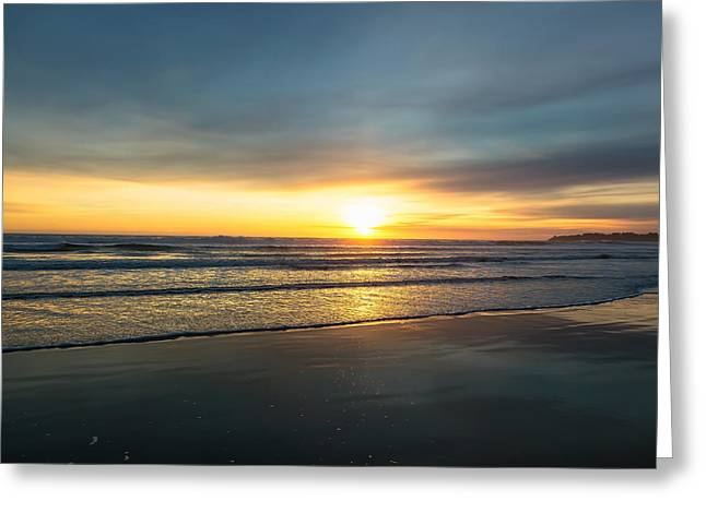 Pch Greeting Cards - Stinson Sunset Greeting Card by Henry Inhofer