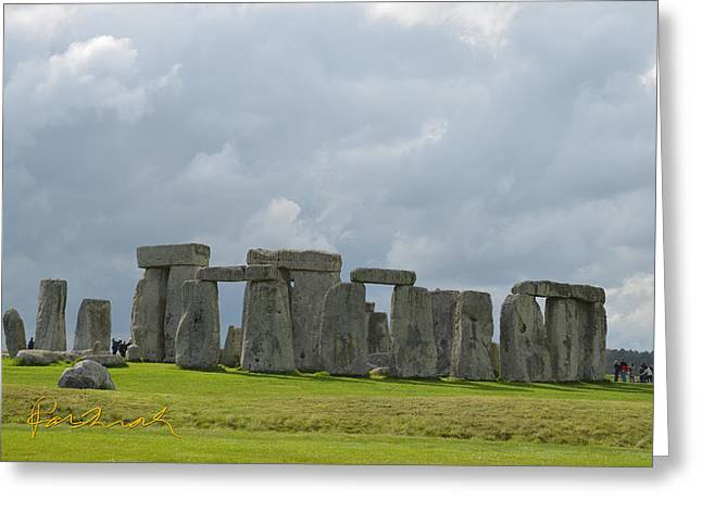 Monolith Greeting Cards - Stonehenge 28 Greeting Card by Parshall Terry