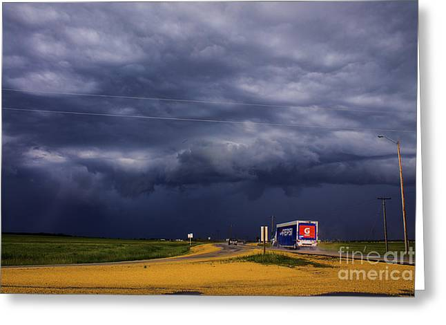 Severe Weather Greeting Cards - Storm Greeting Card by Francis Lavigne-Theriault